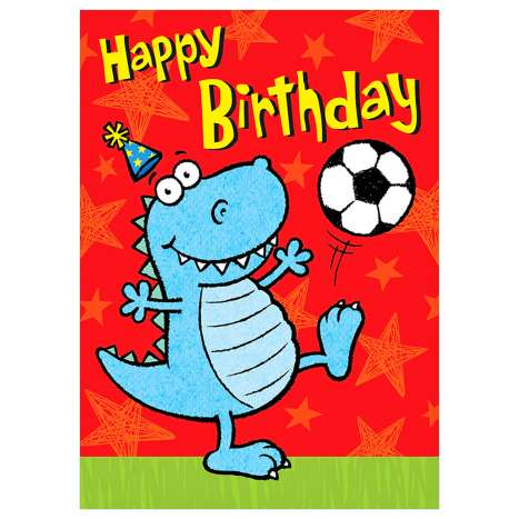 Garlanna Greeting Cards Code 50 - Baby Dino