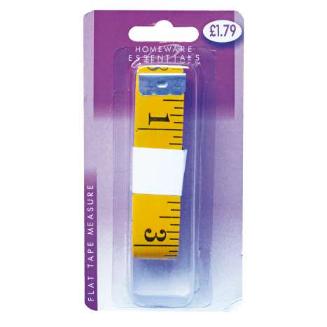 Homeware Essentials Flat Tape Measure 3m (HE40)