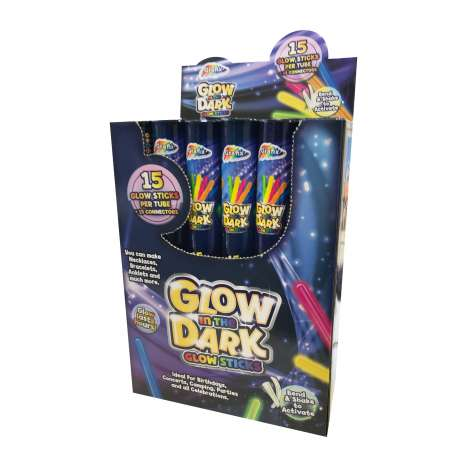 Glow In The Dark Glow Sticks 15 Pack
