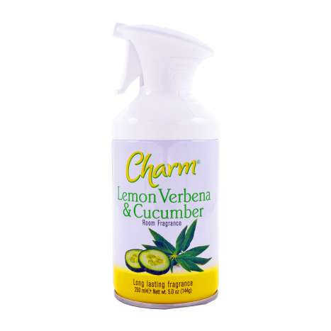 Charm Air Freshener Lemon Verbena & Cucumber 250ml