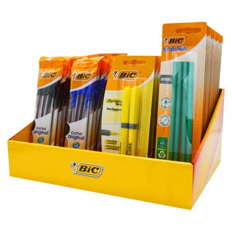 BIC BTS Counter Display (Cardboard)