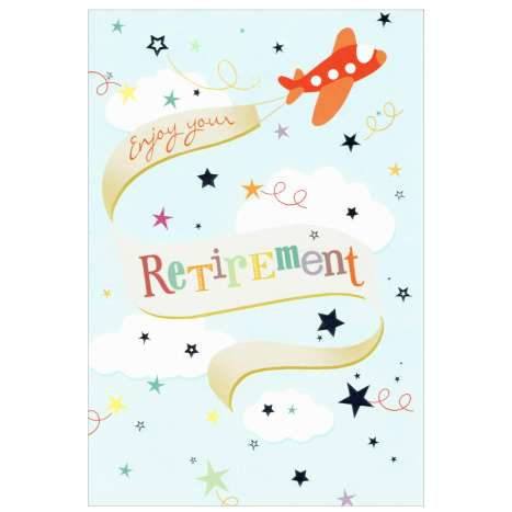 Everyday Greeting Cards Code 50 - Retirement