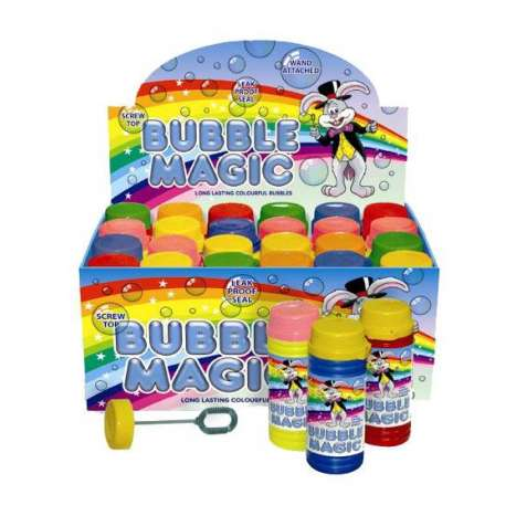 Colour magic bubbles 60ml - In display
