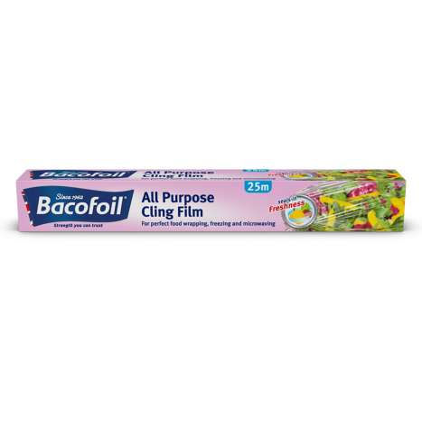 Bacofoil All Purpose Cling Film 25m x 30cm
