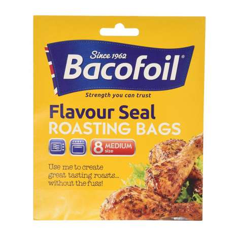 Bacofoil Roasting Oven Bags 8 Pack - Medium Size