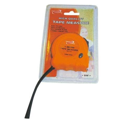 H/Ess tape measure 5 metre (half case)
