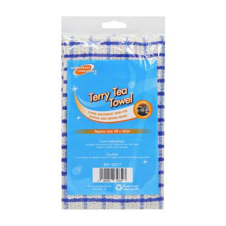 Homeware Essentials Terry Tea Towel