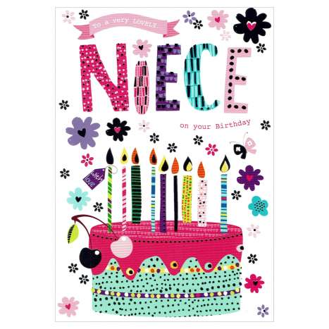 Everyday Greeting Cards Code 50 - Niece