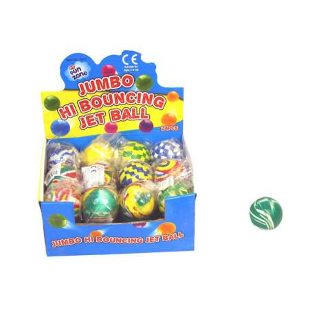 Jumbo Hi Bouncing Jet Ball - Assorted Colours