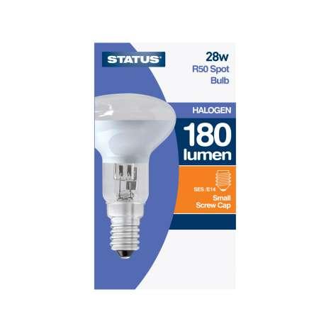 R50 spot bulb *small screw* cap halogen bulb single 28w