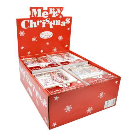 Boxed Christmas Cards - Home & Stocking