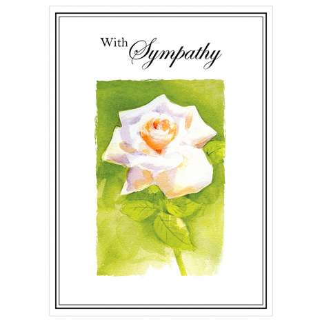Garlanna Greeting Cards Code 50 - Sympathy