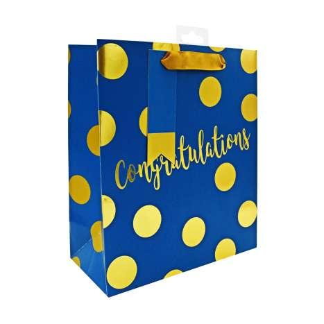 Medium Gift Bags - Congratulations (21cm x 26cm)