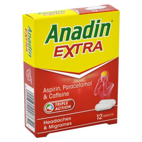 Anadin Extra Caplets 12 Pack