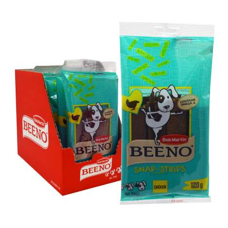 Bob Martin Beeno Chicken Snap-Strips 120g