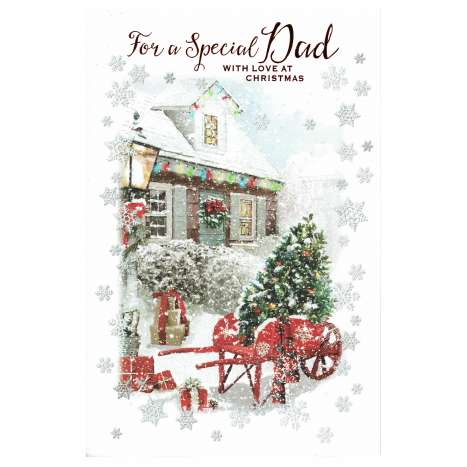 Christmas Cards Code 75 - Dad