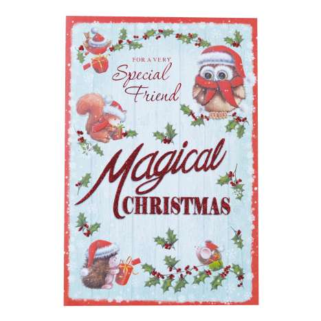 Christmas Cards Code 75 - Special Friend