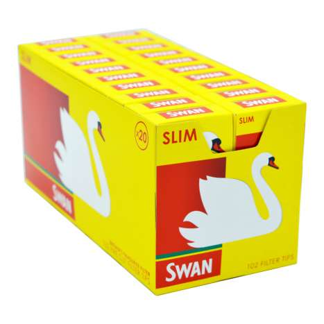 Swan Slim Filter Tips 102 Pack