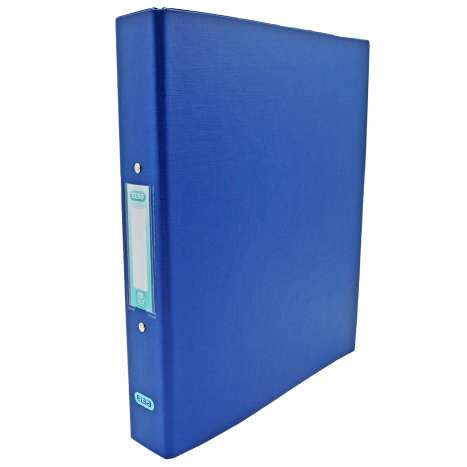 Elba A4 Ring Binder 25mm - Blue