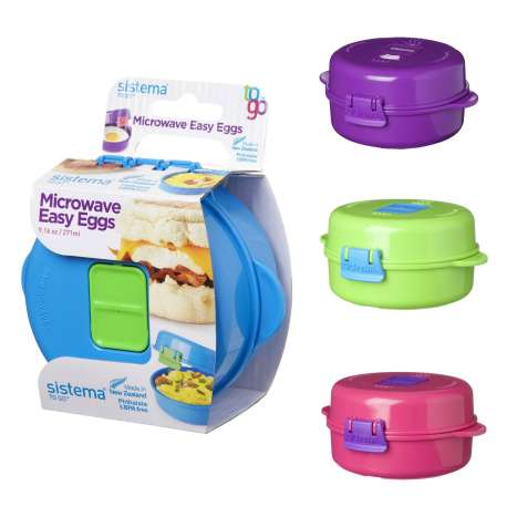 Sistema Microwave easy eggs - assorted colours