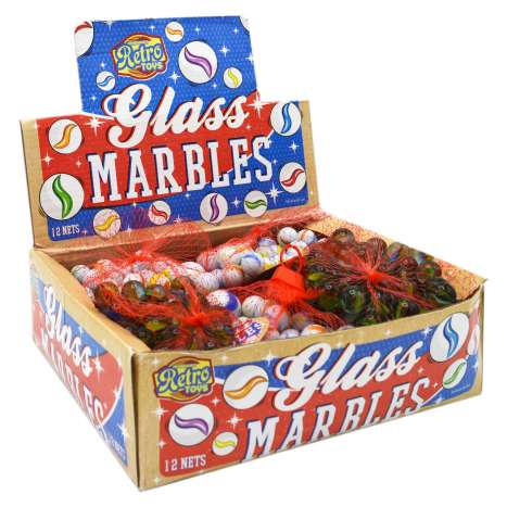 Marbles 50 Pack - Assorted Designs
