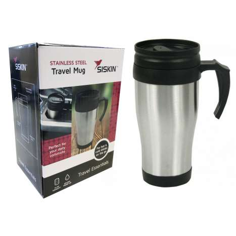 Stainless steel travel mug 16oz