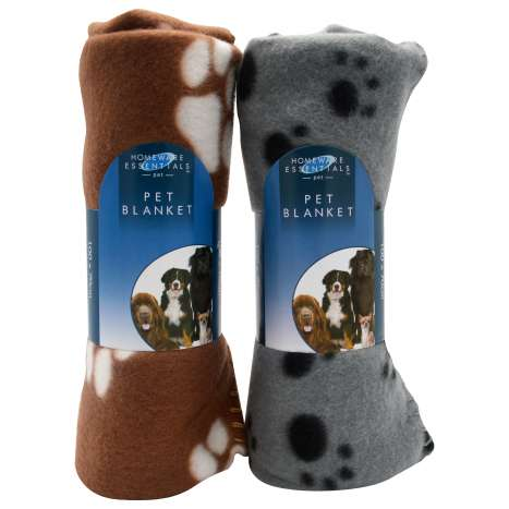 Pet fleece blanket 100 x 70cm