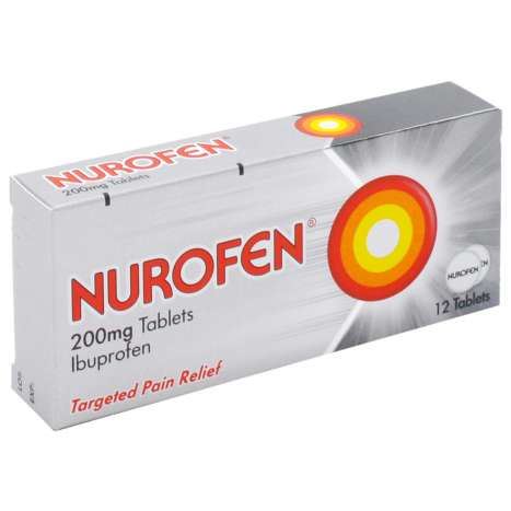 Nurofen 200mg Tablets 12 Pack