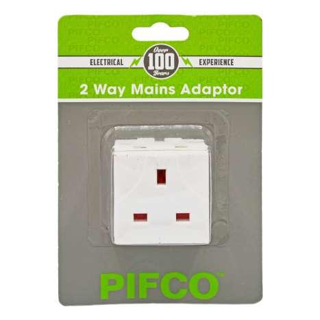 Pifco 2 Way Adaptor
