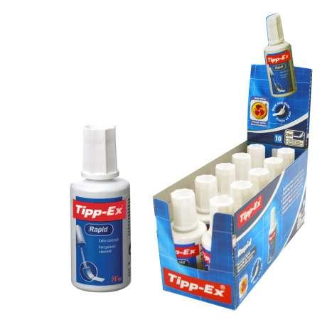 Tipp-Ex fluid 20ml bottle - in display box