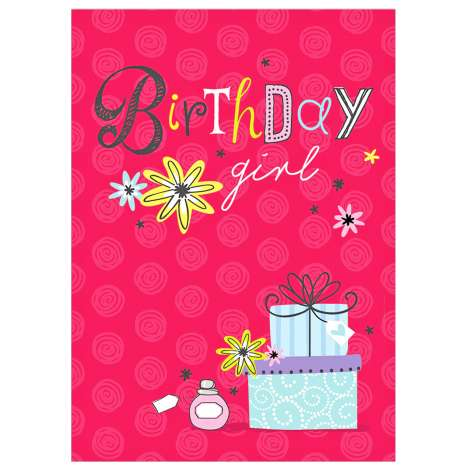 Garlanna Greeting Cards Code 50 - Birthday Presents