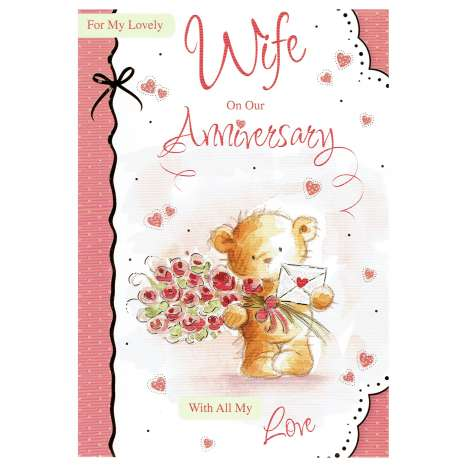 Everyday cards code 75 - Wife Anniversary