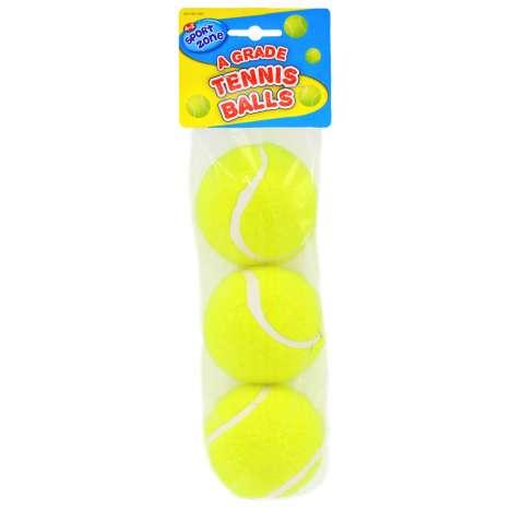 Grade A Tennis Balls 3 Pack