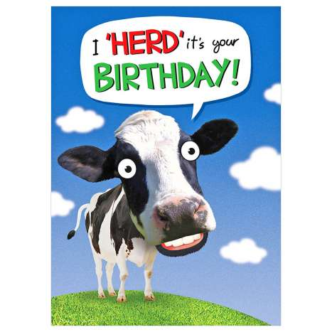 Garlanna Greeting Cards Code 50 - Humour Herd