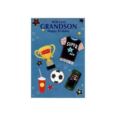 Everyday cards code 50 - Grandson