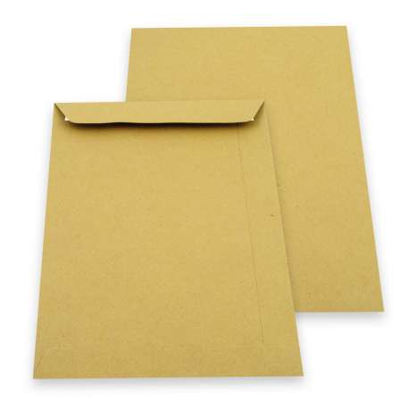 Strip & seal manilla envelope 254 x 178mm - rr1525