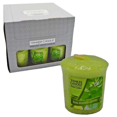 Yankee Votive Candles Sun-Kissed Leaves 49g