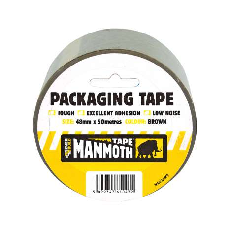 Mammoth Brown Packaging Tape 48mm x 50m