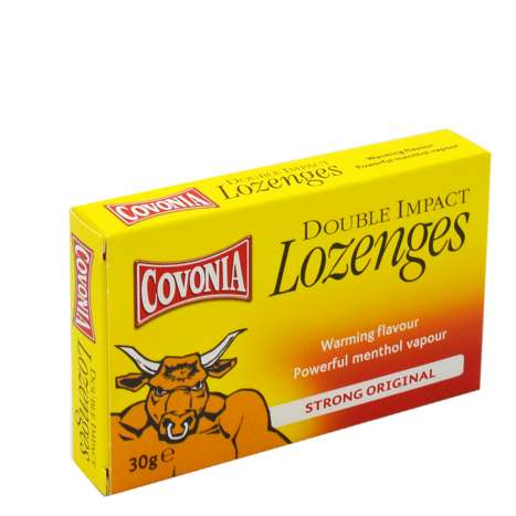 Covonia Double Impact Lozenges 30g - Original