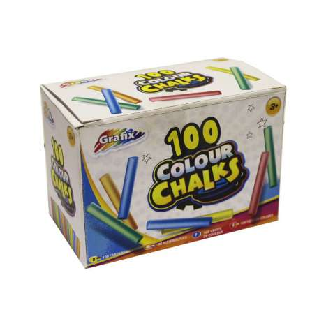 Box of chalk 100PK