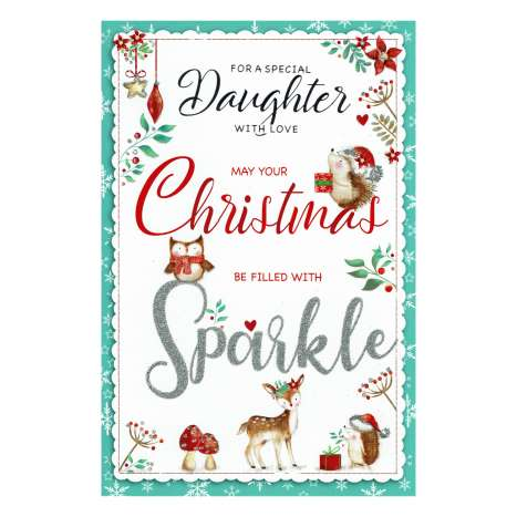 Christmas Cards Code 75 - Special Daughter