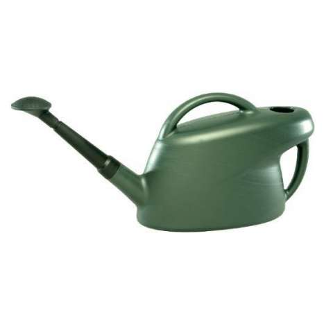 Green 10L watering can