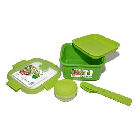 Curver 3 Piece Lunch Kit 1.1 Litre