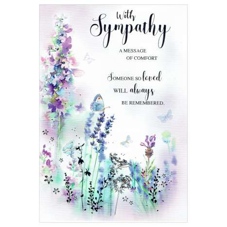 Everyday Greeting Cards Code 50 - Sympathy