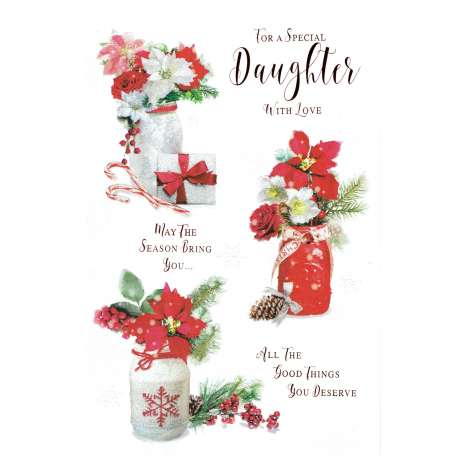 Christmas Cards Code 75 - Daughter