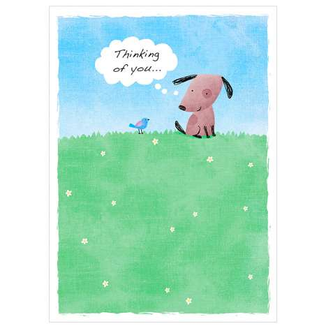 Garlanna Greeting Cards Code 50 - Thinking of You