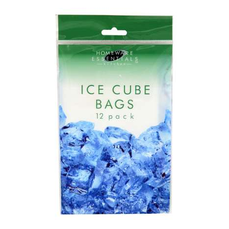 Homeware Essentials Ice Cube Bags 12 Pack
