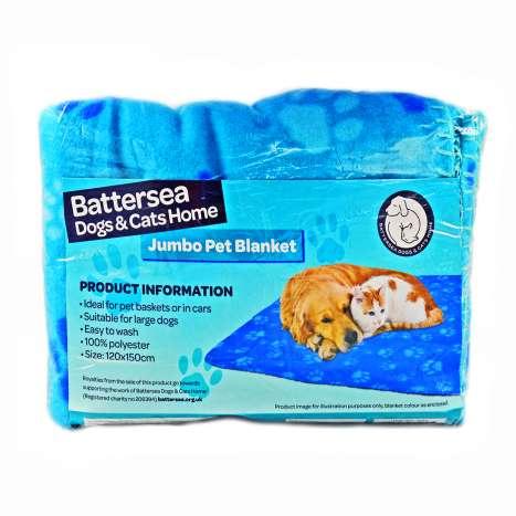 Large Dog & Cat Pet Blanket - Assorted Colours