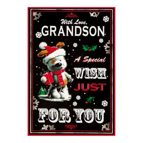 Christmas Cards Code 75 - Grandson