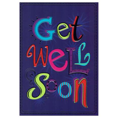 Everyday cards code 75 - Get Well